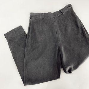 VINTAGE 90's silk BANANA REPUBLIC mom jeans slacks